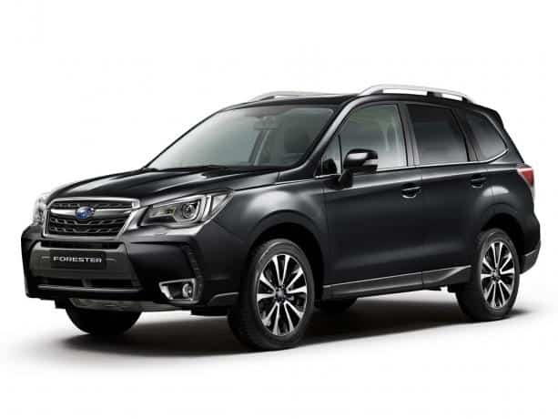 Subaru Forester 2016 машина