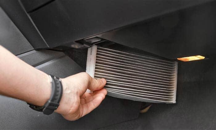 салонный фильтр в машине
