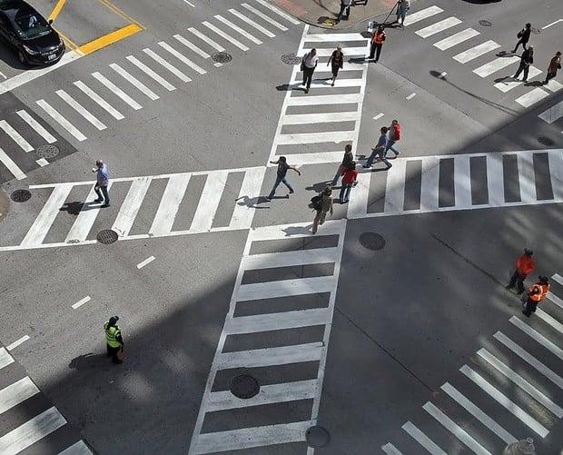 Пешеходные переходы