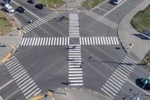 Прошлое и настоящее пешеходных переходов