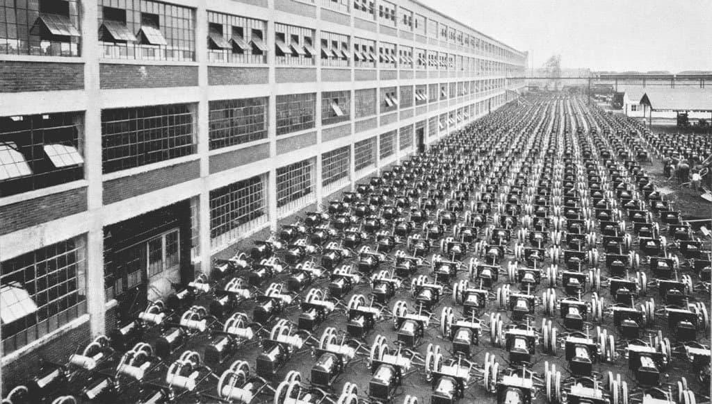 завод Ford историческое фото 1