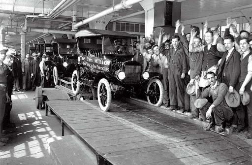 заводы Ford история