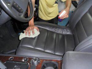 химчистку авто своими руками