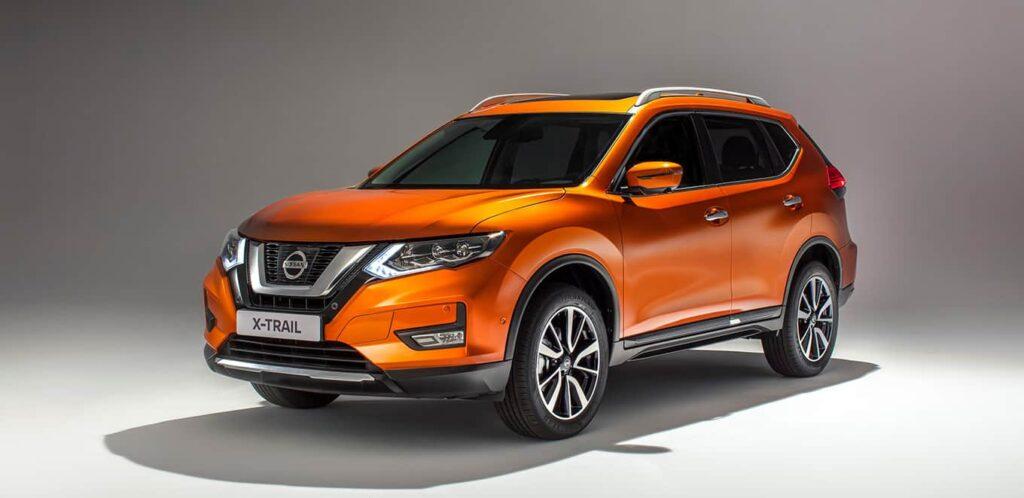 Nissan X-Trail 2018 машина