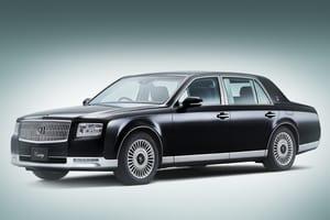 Секреты ручного производства Toyota Century для семьи императора