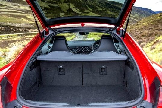 Audi TT RS багажник