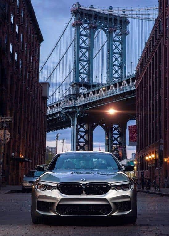 BMW M5 F10 в городе