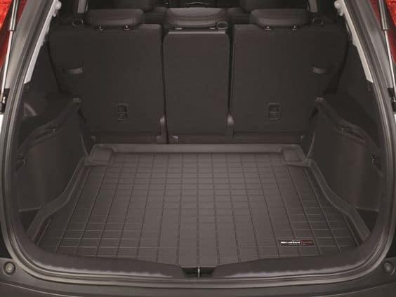 полиуретановый коврик в багажник авто