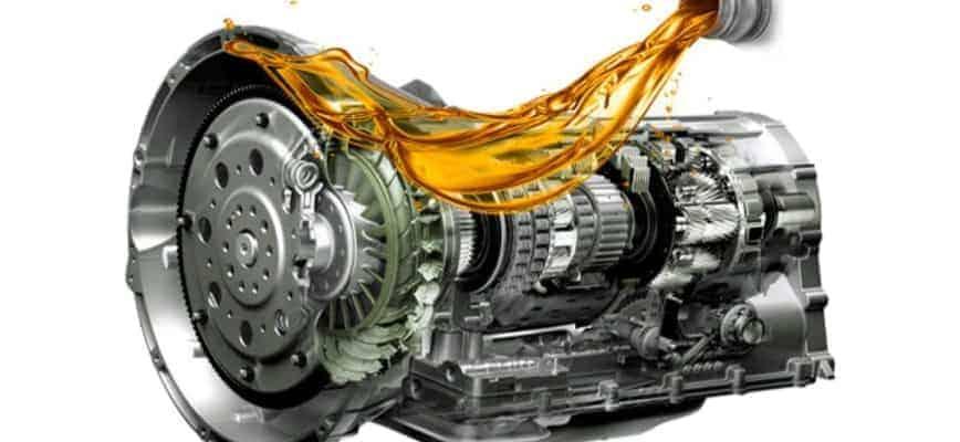 Замена масла в АКПП машины