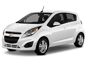 Chevrolet Spark white