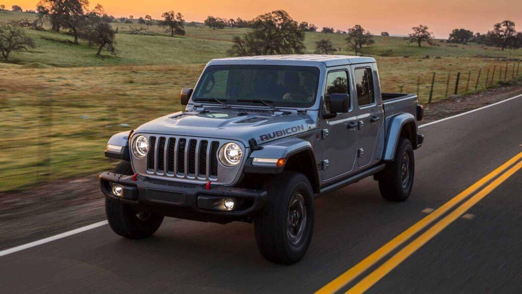 Jeep Gladiator 2020 машина