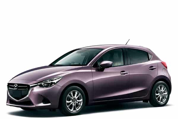 Mazda-Demio-purple