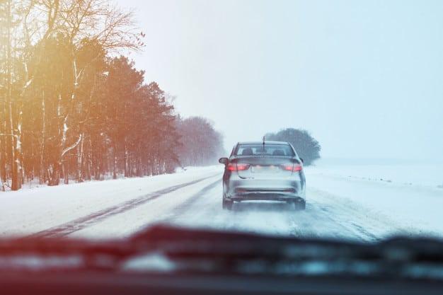 ошибки на зимней дороге фото
