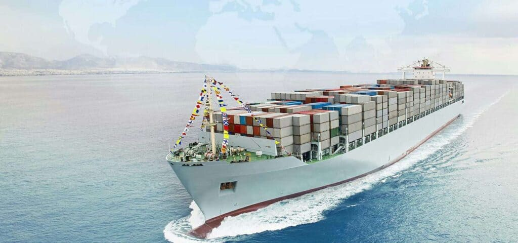 перевозки контейнеров морем фото