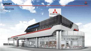 Mitsubishi Motors Dendo Drive House здание фото