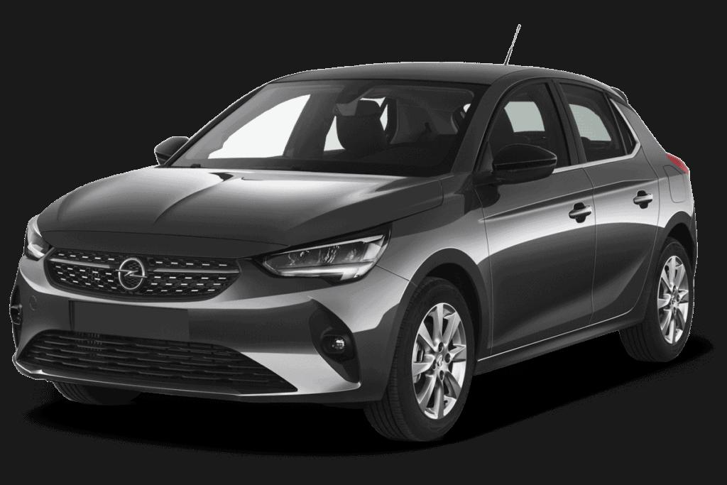 Opel Corsa черный фото